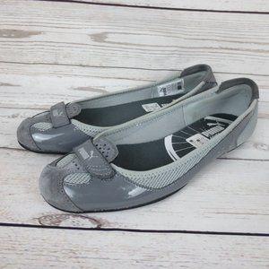 Puma Women`s Flat Shoes Size 8 Gray